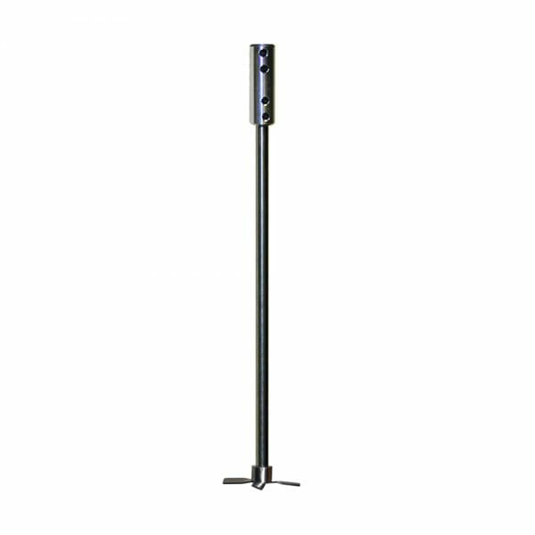 S-316-XX stainless steel mixer shaft