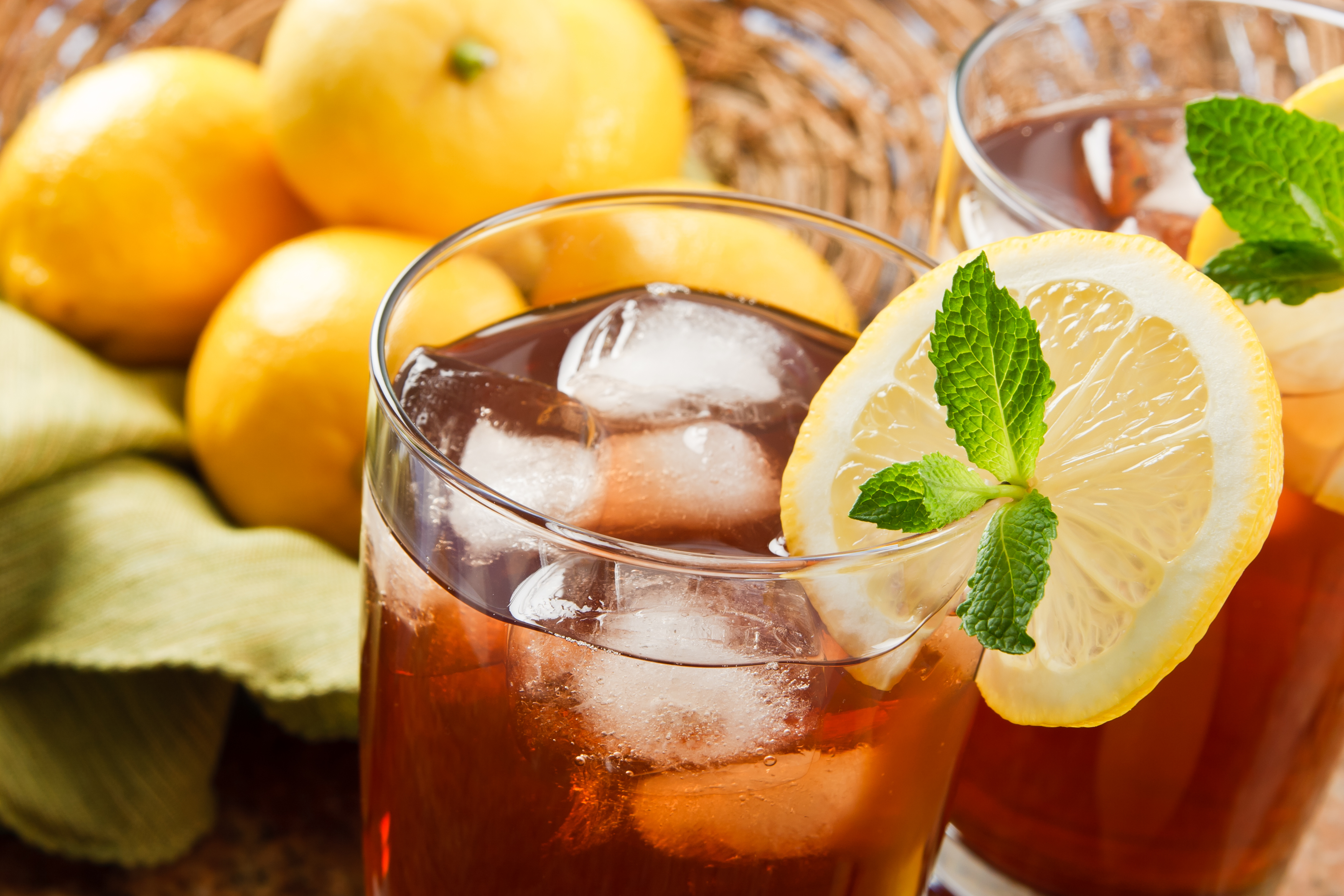 Electric Mixers For Iced Tea Manufacturing Process
